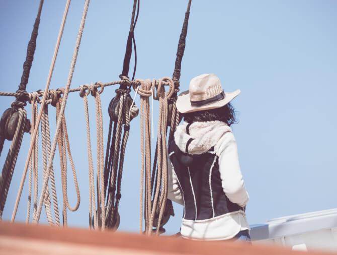 Croisière sur un grand voilier
